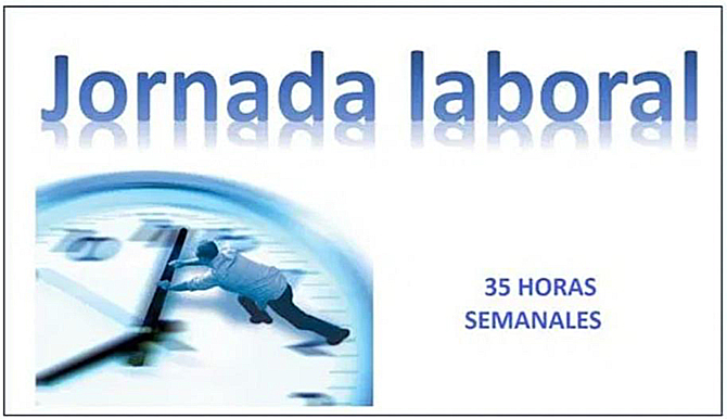 jornada laboral 35 horas opinion ok